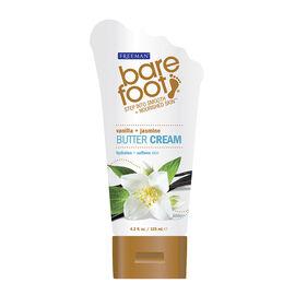 Freeman Barefoot Butter Cream - Vanilla and Jasmine - 125ml