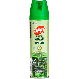 Off! Deep Woods for Sportsmen Insect Repellent - Dry - 113g