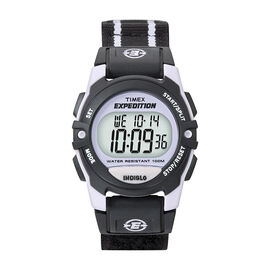 Timex Expedition Watch - Mid Size - Black/Purple - 49658