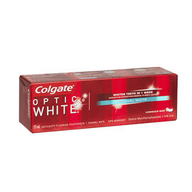 Colgate Optic White Toothpaste - Enamel White - 75ml