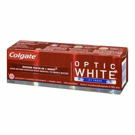 Colgate Optic White Toothpaste - Cool Mint - 75ml