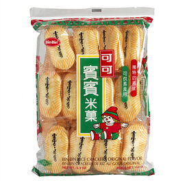 Bin Bin Rice Crackers - Original - 150g