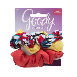 Goody Ouchless Scrunchie - 8649 - 3's
