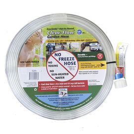 Clearflow Garden Hose - Clear - 50ft