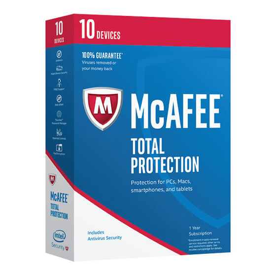 McAfee 2017 Total Protection - 10 Devices