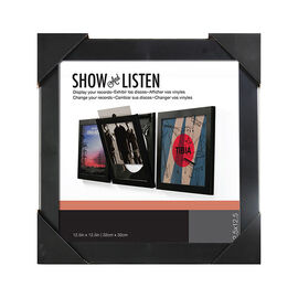 Pinnacle Show and Listen Vinyl Record Frame - 13FP2895
