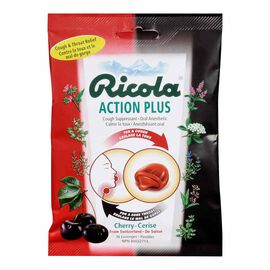 Ricola Action Plus Lozenges - Cherry - 16's