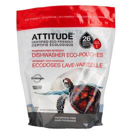 Attitude Dishwasher Eco-Pouches - 26's