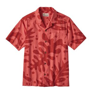 M's Pataloha™ Shirt, Ferns: Fire Red (FRNR)