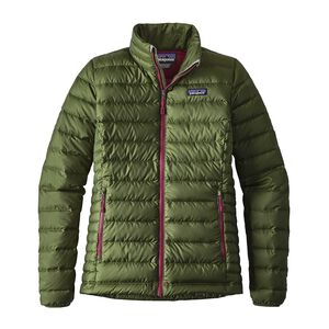 W's Down Sweater Jacket, Buffalo Green (BUFG)