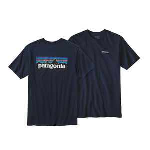 M's P-6 Logo Organic Cotton T-Shirt, Navy Blue (NVYB)