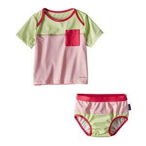 Infant Little Sol Swim Set, Feather Pink (FEAP)