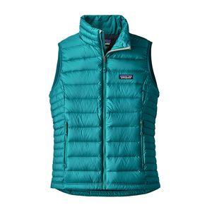 W's Down Sweater Vest, Elwha Blue (ELWB)