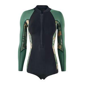W's R1® Lite Yulex™ Long-Sleeved Spring Jane, Cloudbreak Small: Hemlock Green (CDHG)