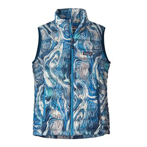 W's Down Sweater Vest, Rivermouth: Big Sur Blue (RMBS)