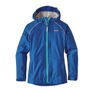 Girls' Torrentshell Jacket, Superior Blue (SPRB)