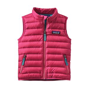 Baby Down Sweater Vest, Magic Pink (MAGP)