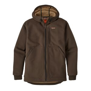 M's Burly Man Hooded Jacket, Dark Walnut (DWA)