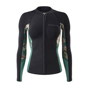 W's R1® Lite Yulex™ Long-Sleeved Top, Cloudbreak Small: Hemlock Green (CDHG)