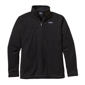 M's Better Sweater™ 1/4-Zip Fleece, Black (BLK)