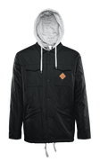 MYDER HOODED JACKET - BLACK - hi-res