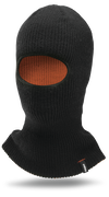 HOLD UP FACE MASK - BLACK/ORANGE - hi-res