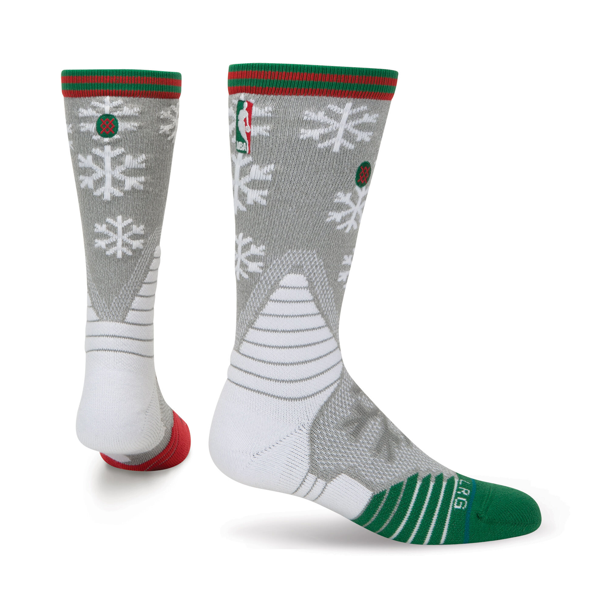 Claus - Mens NBA On Court Socks   Stance