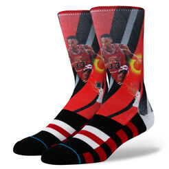 PIPPEN - TRADING CARD   BLACK/RED   L